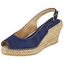 Buy John Lewis Kami Peep Toe Wedge Heeled Sandals Online at johnlewis.com