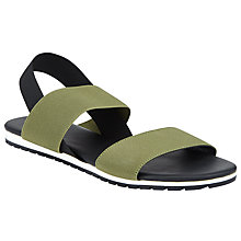 Buy Kin by John Lewis Lerum Double Strap Sandals, Khaki Online at johnlewis.com