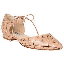 Buy L.K. Bennett Mikaila Two Part Ballet Pumps Online at johnlewis.com