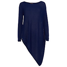 Buy Phase Eight Drina Asymmetric Knitted Jumper, Ink Online at johnlewis.com