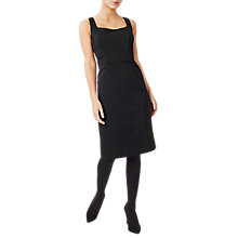 Buy Precis Petite Megan Sweetheart Neck Tailored Dress, Black Online at johnlewis.com