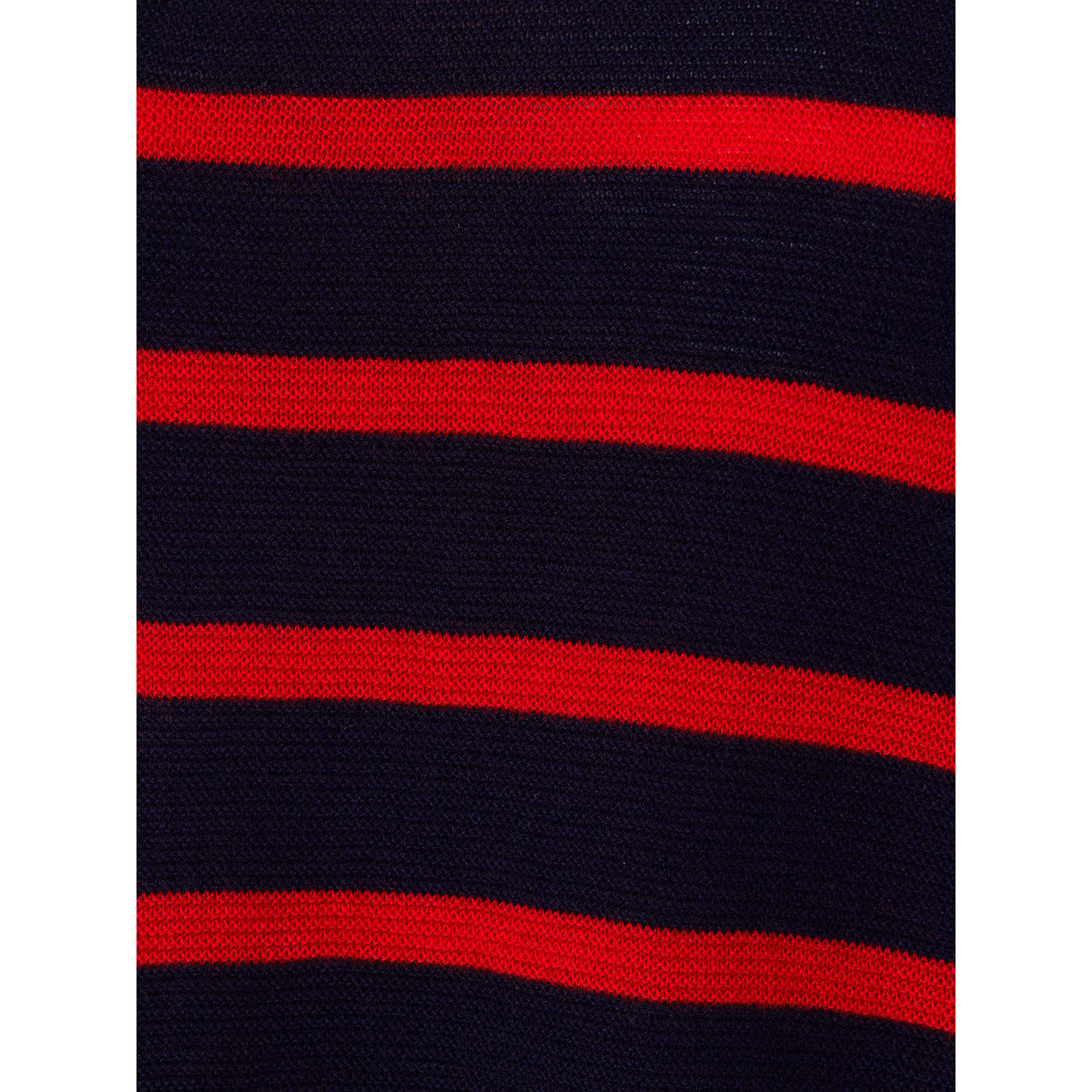 BuyPhase Eight Breton Stripe Megg Jumper, Navy/Red, XS Online at johnlewis.com