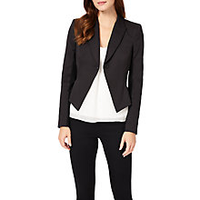 Buy Phase Eight Catriona Revere Jacket, Black Online at johnlewis.com