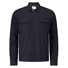 Buy Samsoe & Samsoe Aran Shirt Jacket, Dark Sapphire Online at johnlewis.com