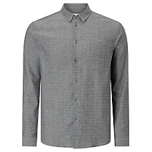 Buy Samsoe & Samsoe Liam Shirt, Light Grey Melange Online at johnlewis.com
