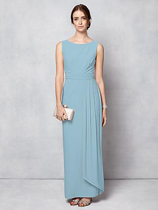 Phase Eight Bridal Cody Maxi Dress, Dusty Blue