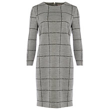 Buy Phase Eight Cece Check Tunic Dress, Grey Online at johnlewis.com