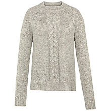 Buy Fat Face Tilly Cable Knit Jumper Online at johnlewis.com