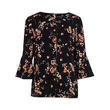 Buy Phase Eight Molly Print Blouse, Multi Online at johnlewis.com
