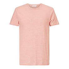 Buy Samsoe & Samsoe Kronos Breton Stripe T-Shirt, Poincina Stripe Online at johnlewis.com