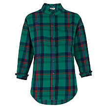 Buy Whistles Laurie Check Shirt, Multi Online at johnlewis.com