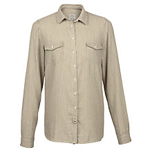Buy Fat Face Rosie Stripe Shirt, Ivory Online at johnlewis.com