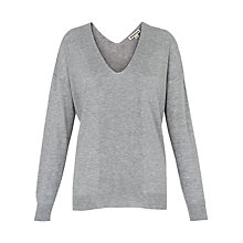 Buy Whistles V-Neck Relaxed Jumper Online at johnlewis.com