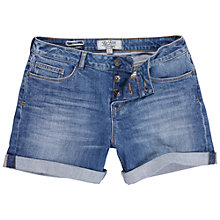 Buy Fat Face Blue Sky Denim Shorts, Denim Online at johnlewis.com