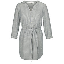 Buy Fat Face Jo Gingham Longline Tunic, Ivory Online at johnlewis.com
