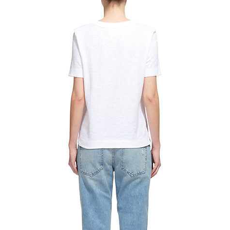 Buy Whistles Rosa Double Trim T-Shirt Online at johnlewis.com