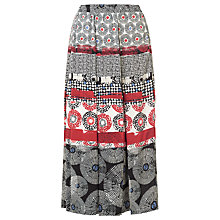 Buy Gerry Weber Printed Midi Skirt, Multi Online at johnlewis.com