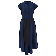 Buy Finery Elfort Belted Tea Dress, Navy Online at johnlewis.com