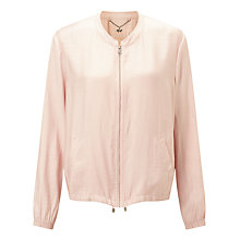 Buy Gerry Weber Bomber Jacket, Powder Pink Online at johnlewis.com