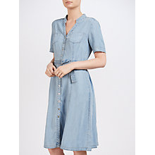 Buy Gerry Weber Denim Dress, Light Blue Online at johnlewis.com
