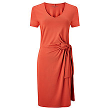 Buy Gerry Weber Wrap Effect Jersey Dress, Earth Red Online at johnlewis.com