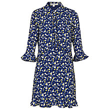 Buy Whistles Bell Flower Shirt Dress, Blue/Multi Online at johnlewis.com
