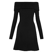 Buy Whistles Alina Dress, Black Online at johnlewis.com