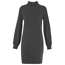 Buy Whistles Juliet Funnel Neck Knitted Dress Online at johnlewis.com