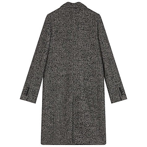 Buy Gerard Darel Minuit Manteaux Coat, Grey Online at johnlewis.com