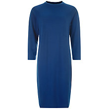 Buy Jaeger Seam Detail Dress, Navy Online at johnlewis.com