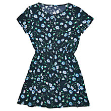 Buy Jigsaw Girls' Dandelion Print Dress, Navy Online at johnlewis.com