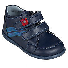 Buy John Lewis Toddler Harry Double Rip-Tape Shoes Online at johnlewis.com