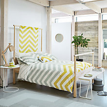 Buy Scion Vector Cotton Bedding Online at johnlewis.com