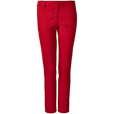 Winser London Cotton Twill Straight Leg Trousers