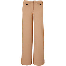 Buy Winser London Crepe Jersey Wide Leg Trousers Online at johnlewis.com