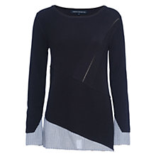 Buy French Connection Rib Crew Jumper Online at johnlewis.com