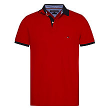 Buy Tommy Hilfiger Slim Fit Piqué Cotton Polo Shirt Online at johnlewis.com
