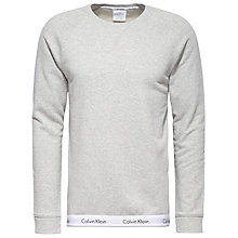 Buy Calvin Klein CK Sweatshirt, Grey Online at johnlewis.com