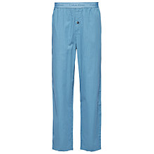 Buy Calvin Klein Martin Check Print Lounge Pants, Teal Online at johnlewis.com