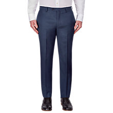 Buy Hackett London Italian Birdseye Super 120s Wool Suit Trousers, Blue Online at johnlewis.com