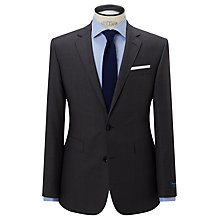 Buy John Lewis Ermenegildo Zegna Super 160s Wool Semi Plain Half Canvas Tailored Suit Jacket, Grey Online at johnlewis.com
