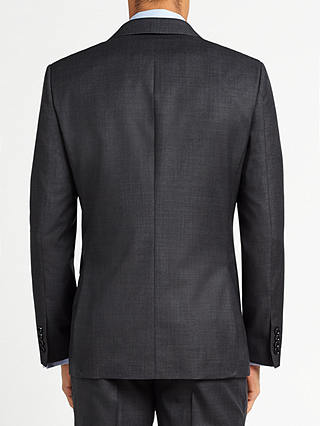 Buy John Lewis Ermenegildo Zegna Super 160s Wool Semi Plain Half Canvas Tailored Suit Jacket, Grey, 36R Online at johnlewis.com