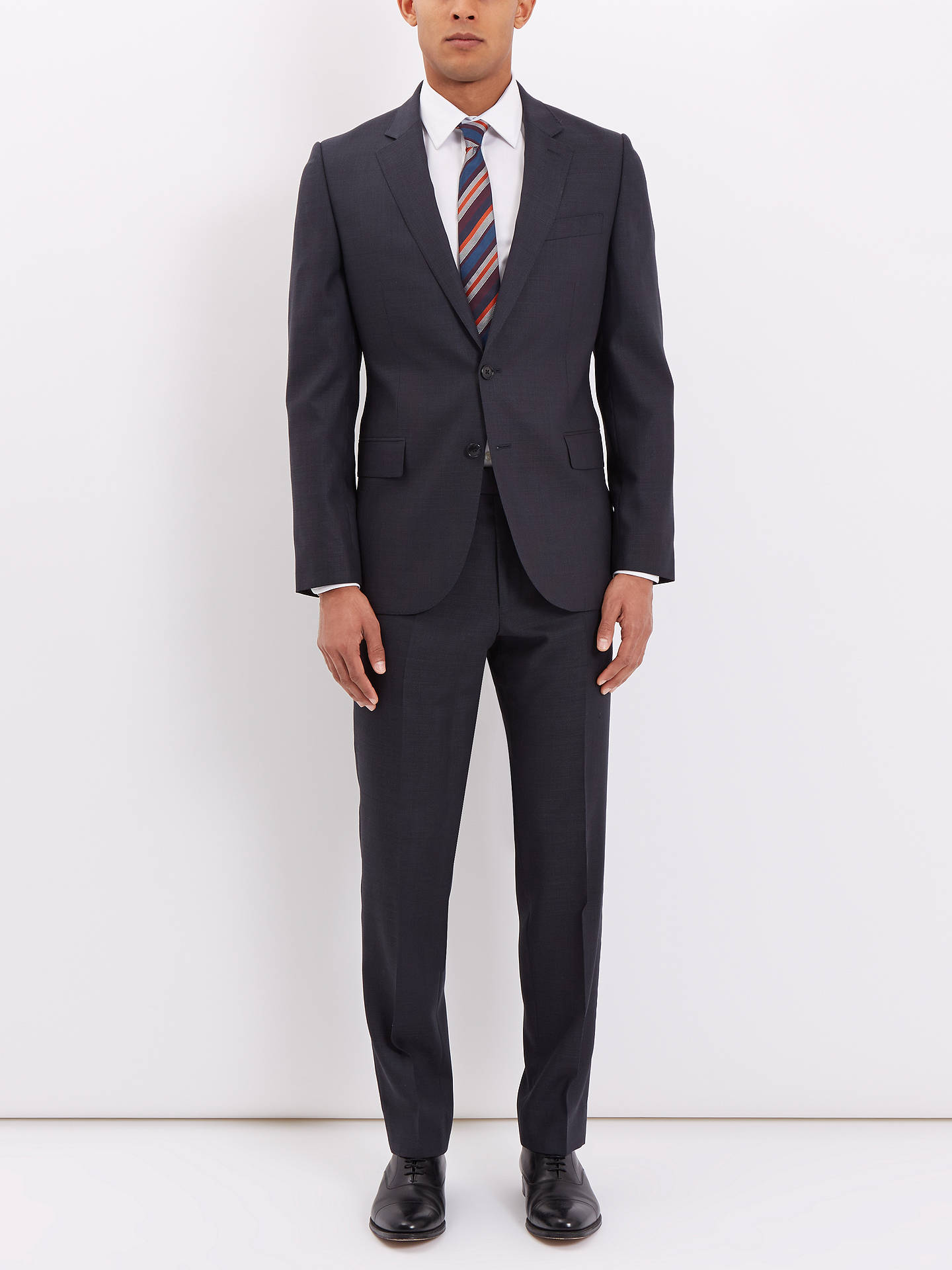 3edc61771aaf ... Buy Jaeger Wool Pick and Pick Regular Suit Trousers, Charcoal, 32R  Online at johnlewis