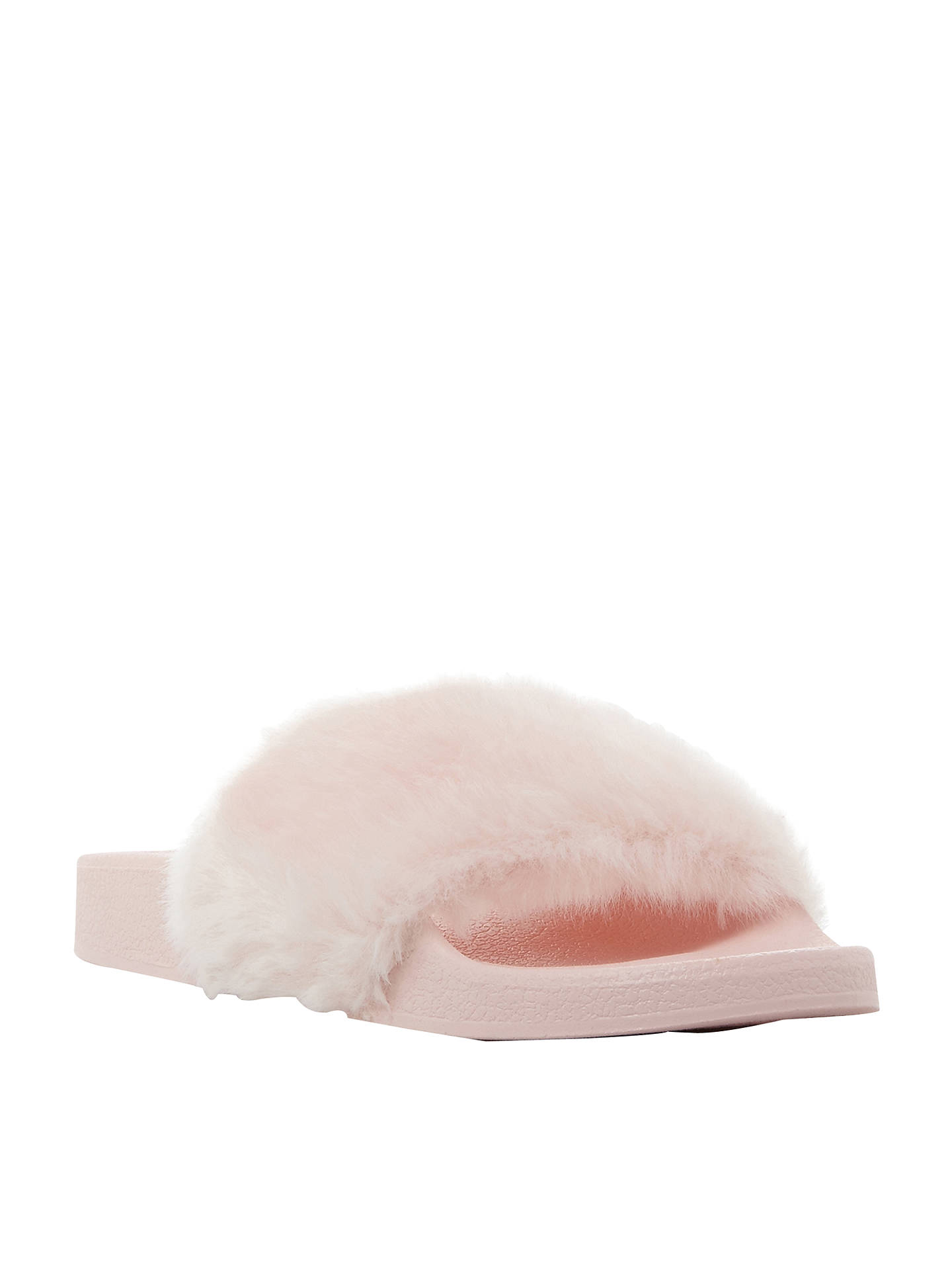 12ab076a66a Steve Madden Softey Faux Fur Sandals at John Lewis   Partners