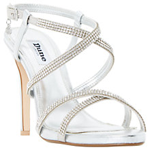 Buy Dune Mansionn Multi Strap Stiletto Sandals Online at johnlewis.com