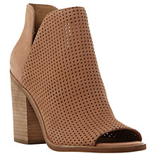 Buy Steve Madden Tala Peep Toe Block Heeled Sandals Online at johnlewis.com