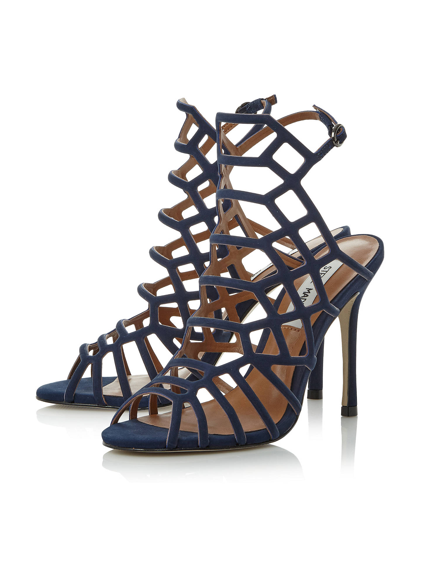 05701e5231d Buy Steve Madden Slithur High Heeled Cage Sandals