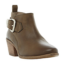 Buy Steve Madden Bradi Block Heeled Ankle Boots Online at johnlewis.com