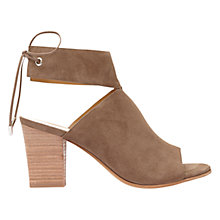 Buy Mint Velvet Mia Block Heeled Sandals, Mole Online at johnlewis.com