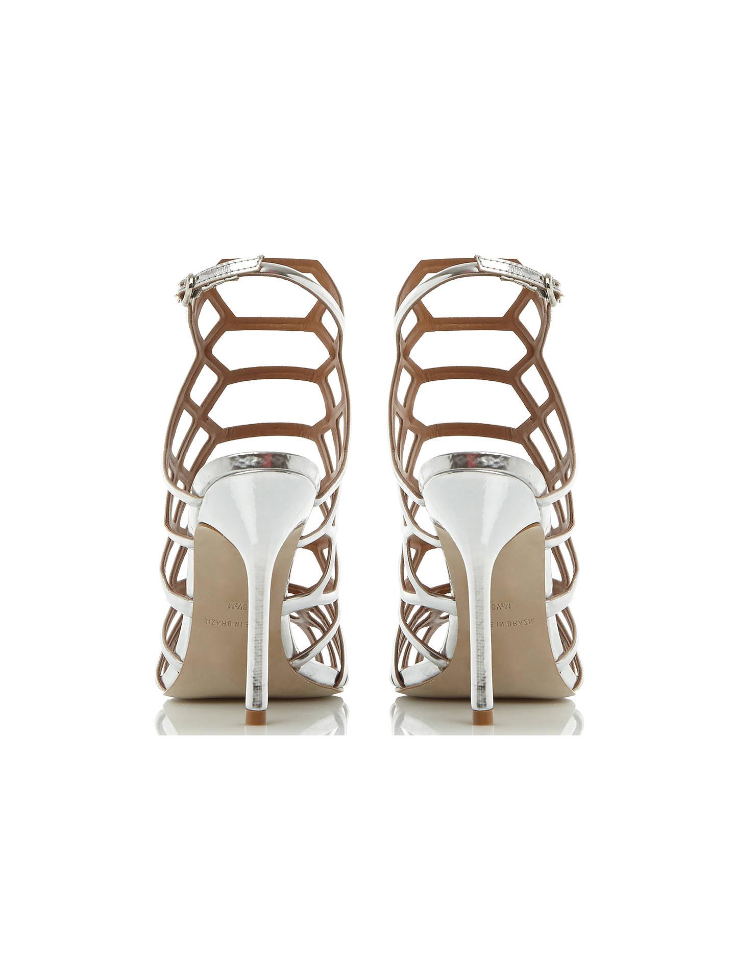 4c3b4949270 Steve Madden Slithur High Heeled Cage Sandals at John Lewis   Partners